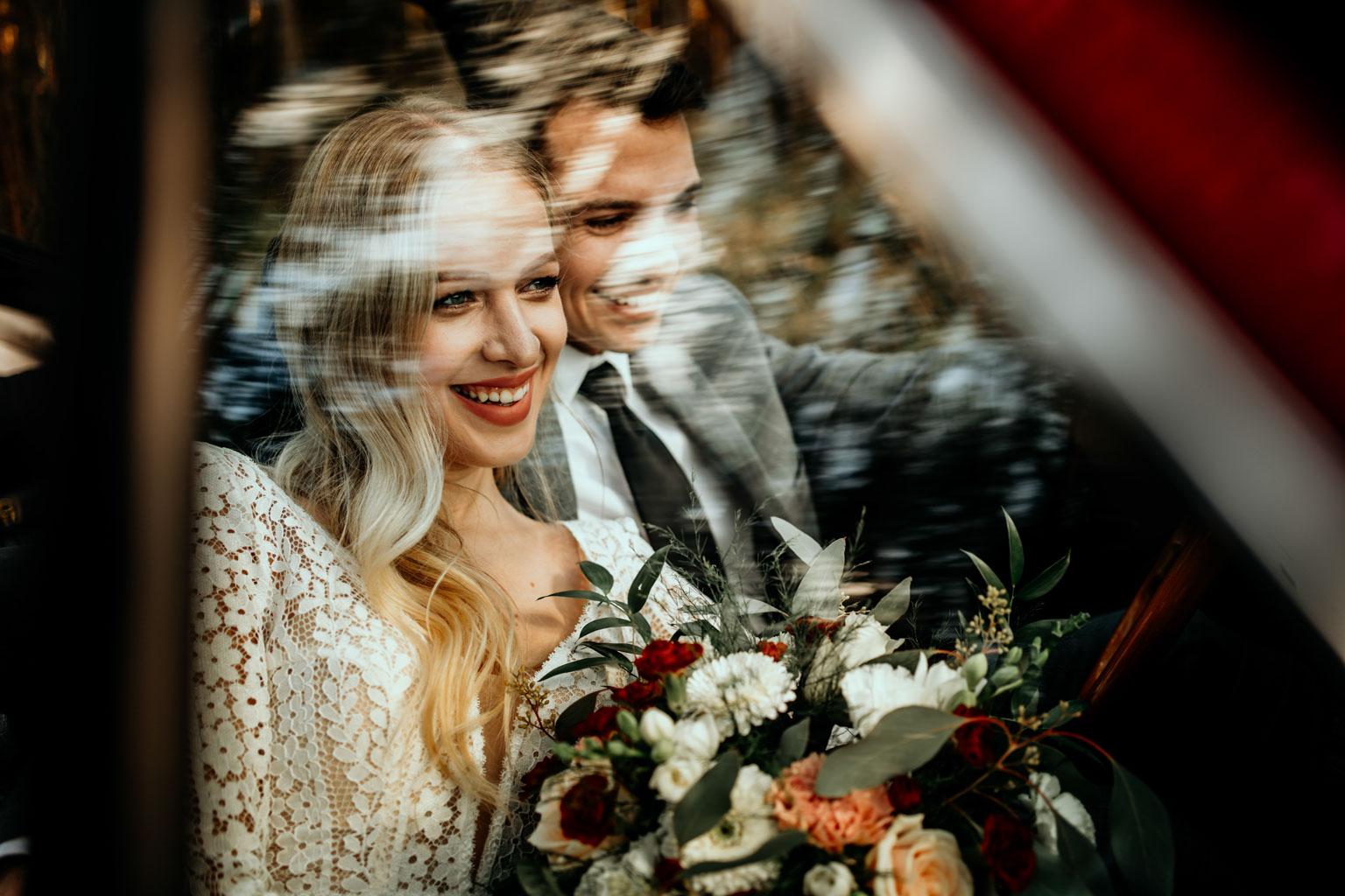 Sesja śluban w aucia